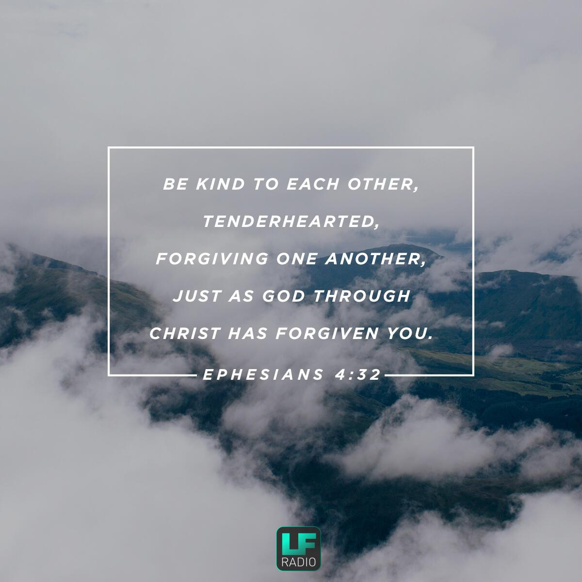 Ephesians 4:32 - Verse of the Day