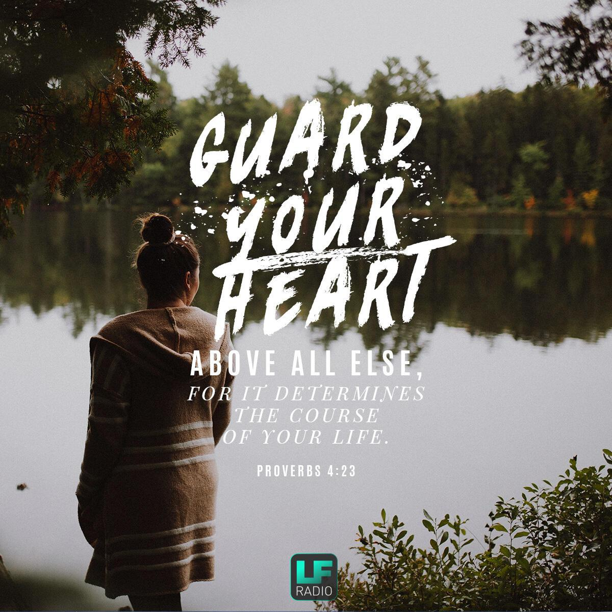Proverbs 4:23 - Verse of the Day