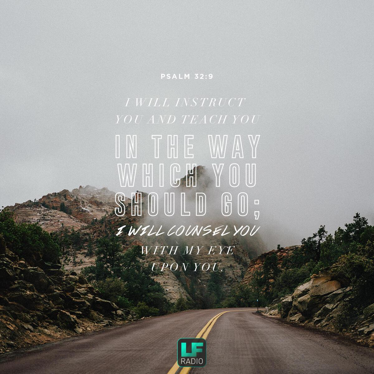 Psalm 32:9 - Verse of the Day