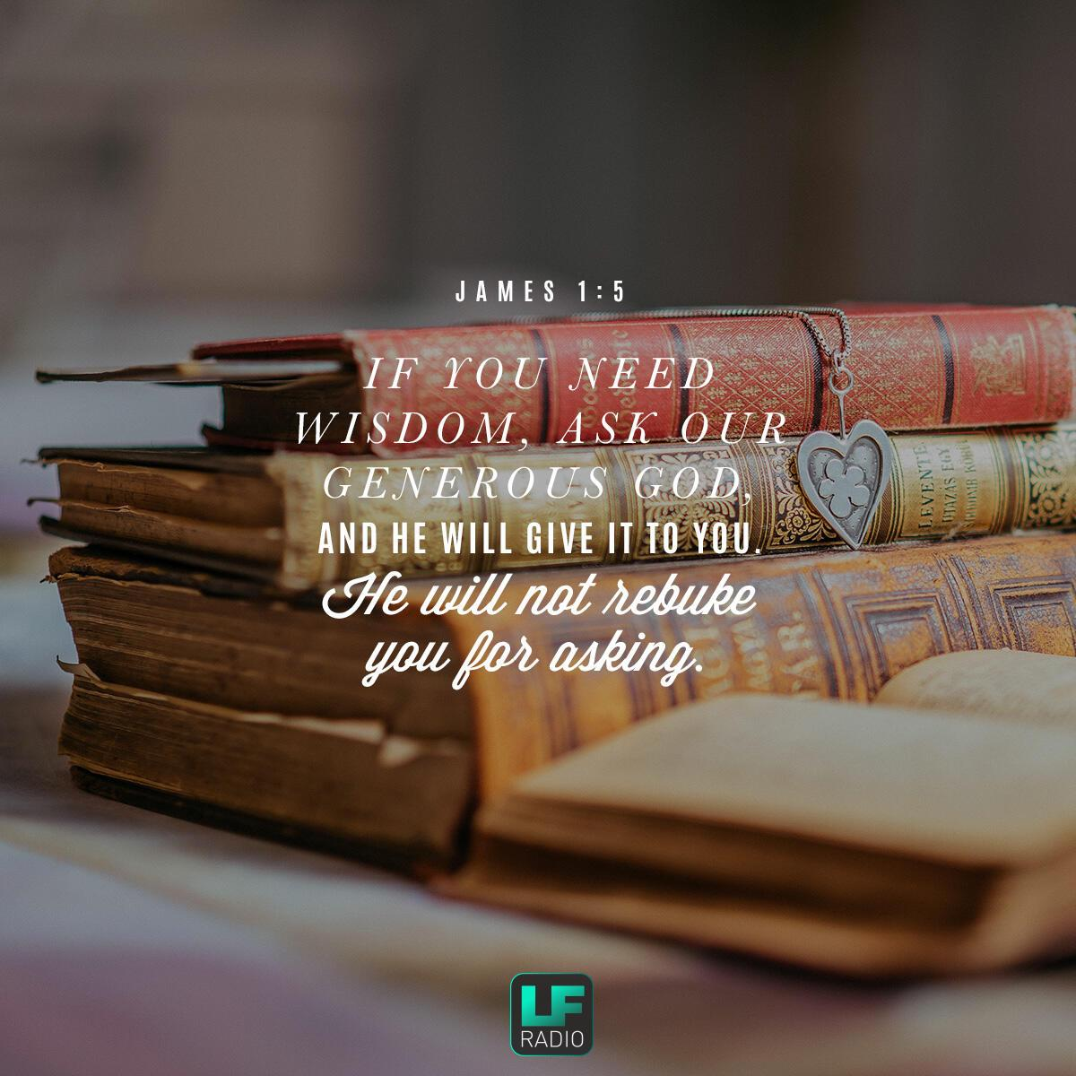 James 1:5 - Verse of the Day