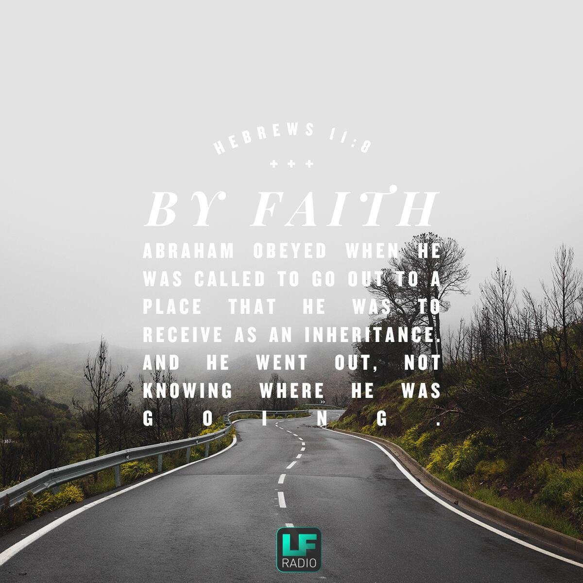 Hebrews 11:8