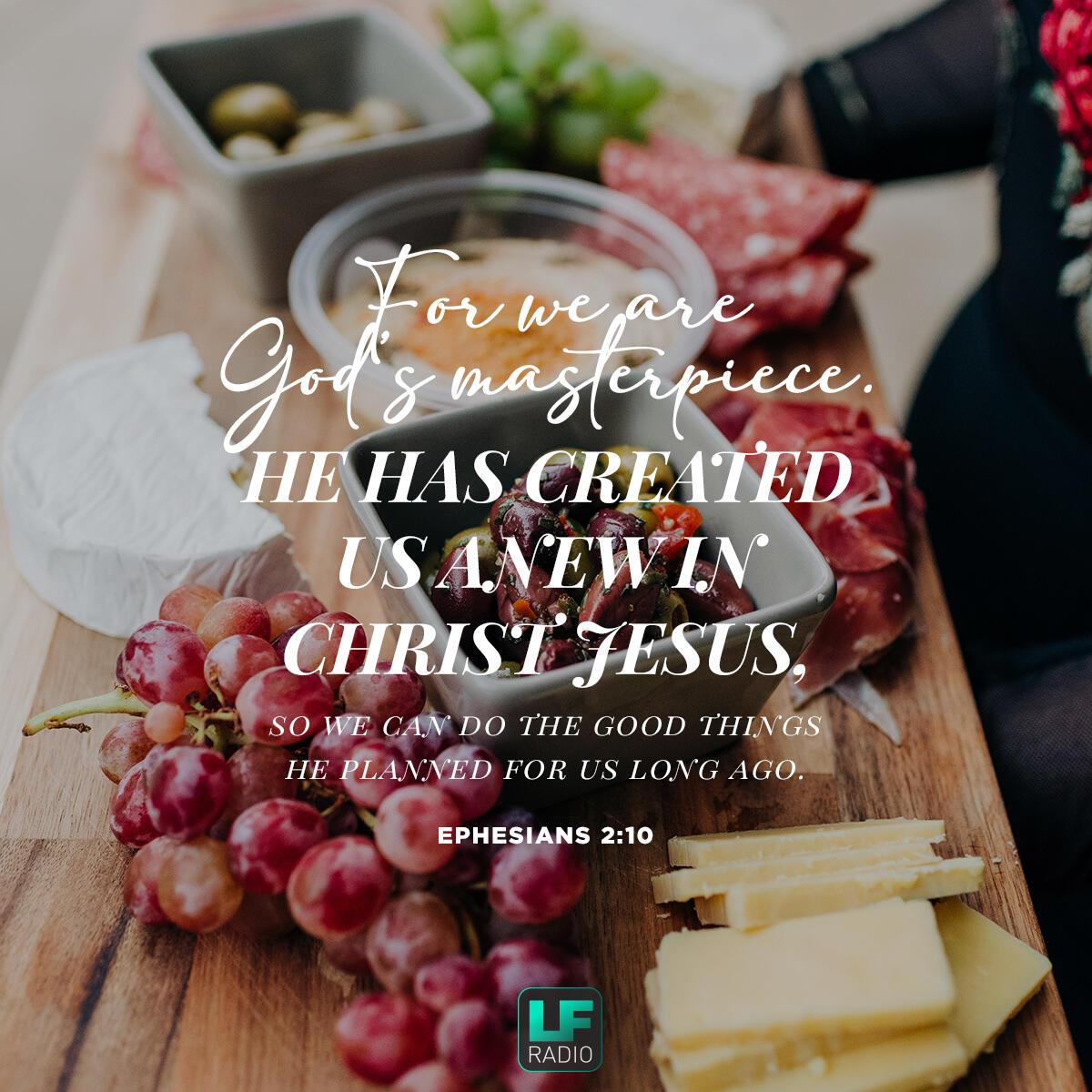 Ephesians 2:10 - Verse of the Day