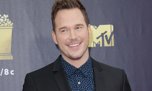 Chris Pratt Delivered a Mini-Sermon at the MTV Movie Awards