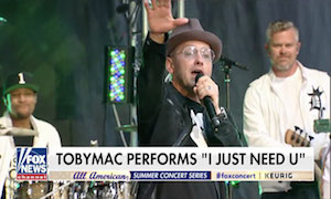 TobyMac Rocks Full Crowd At FOX & Friends' All-American Summer Concert Series