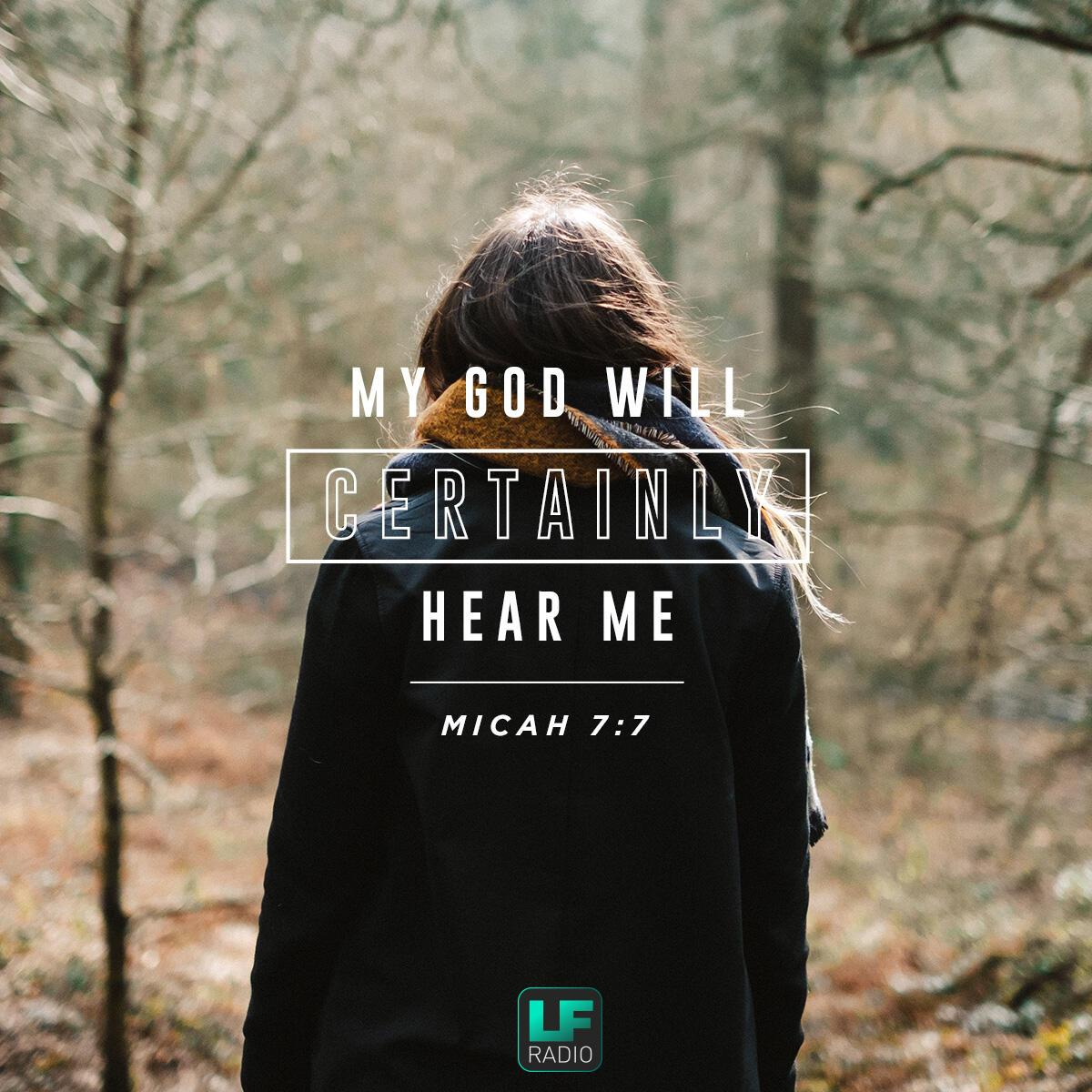 Micah 7:7 - Verse of the Day