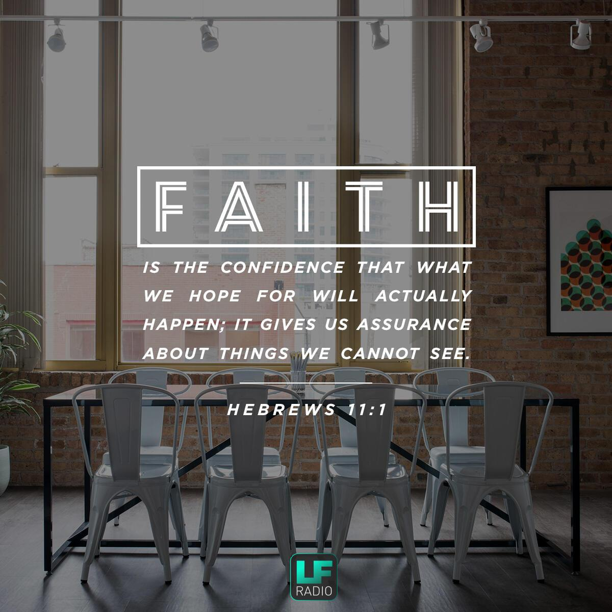Hebrews 11:1 - Verse of the Day