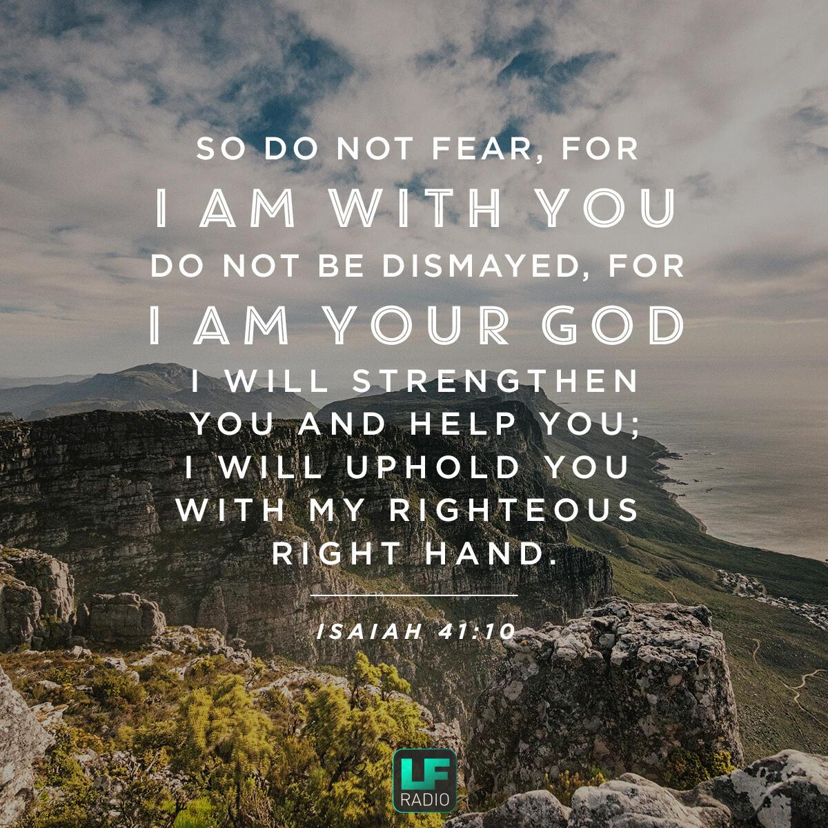 Isaiah 41:10 - Verse of the Day