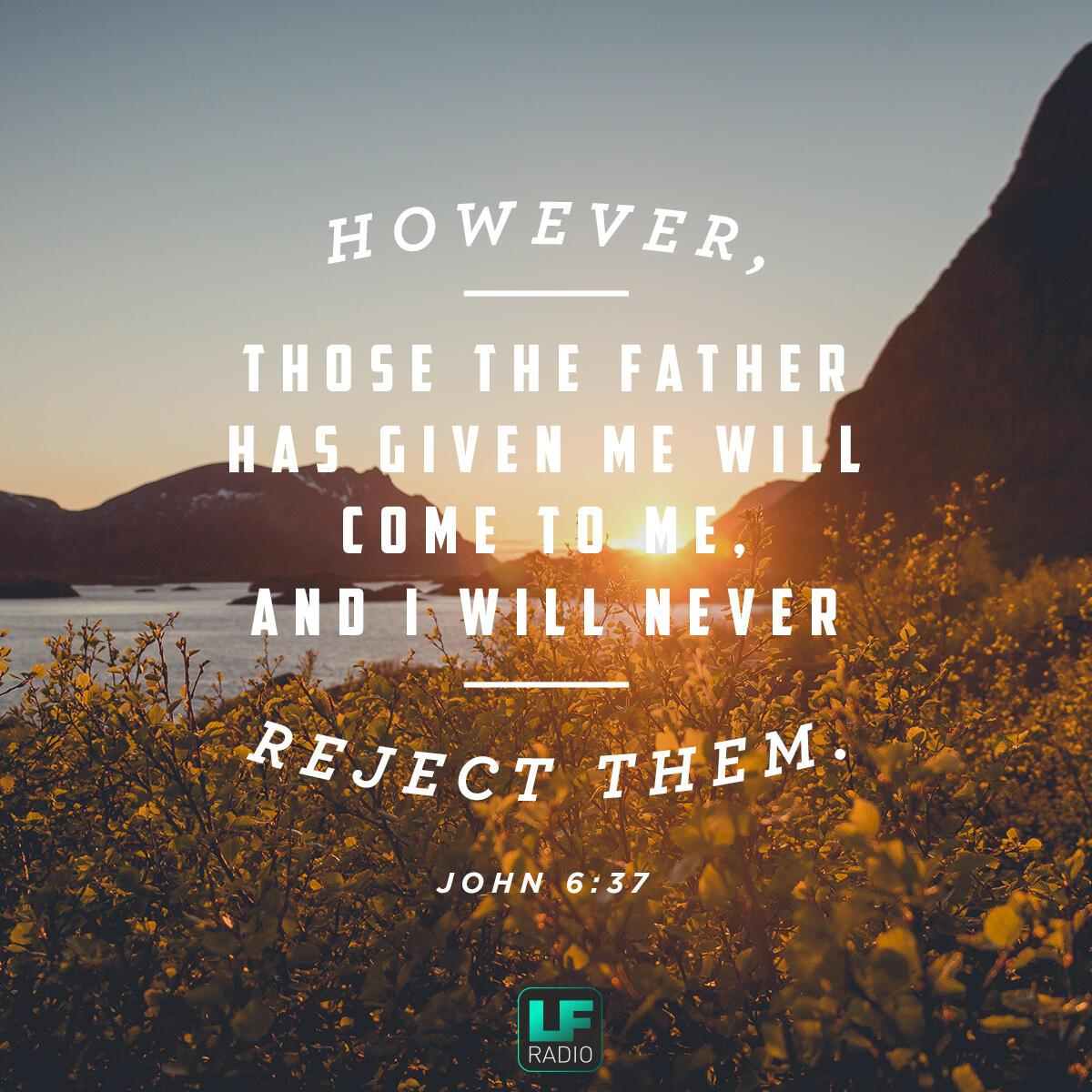 John 6:37 - Verse of the Day