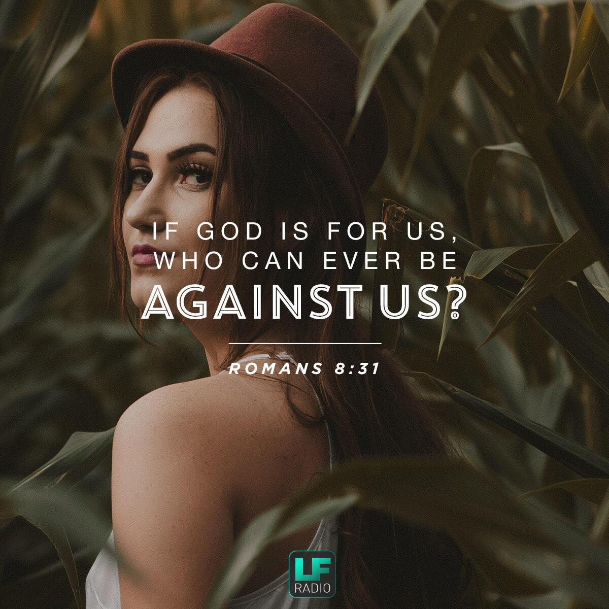 Romans 8:31 - Verse of the Day