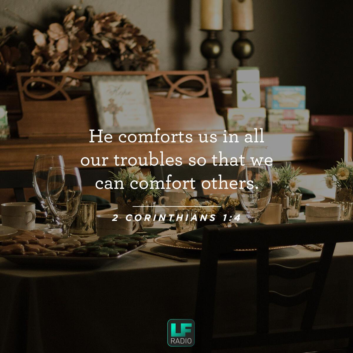 2 Corinthians 1:4 - Verse of the Day