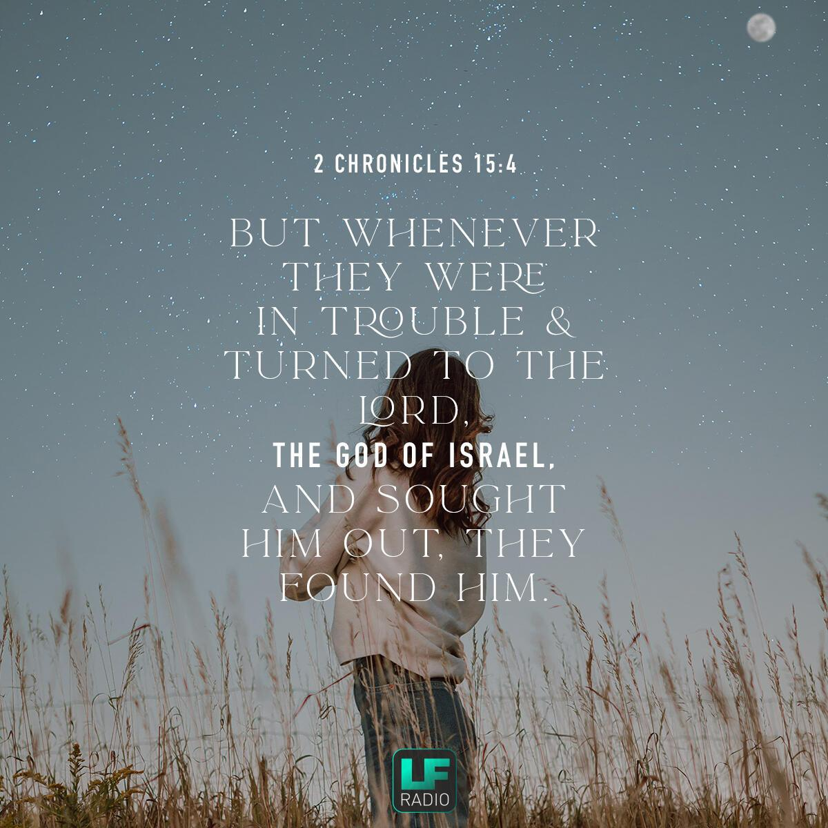 2 Chronicles 15:4